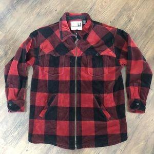 Ralph Lauren 1967 Vintage Fleece Zip Shirt Jacket